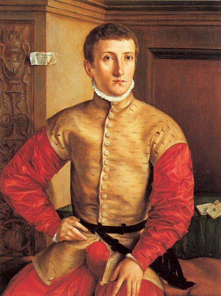 Георг Пенкз. Портрет сидящего молодого человека