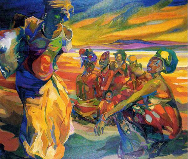 Рут Баумгарте. Африканское видение