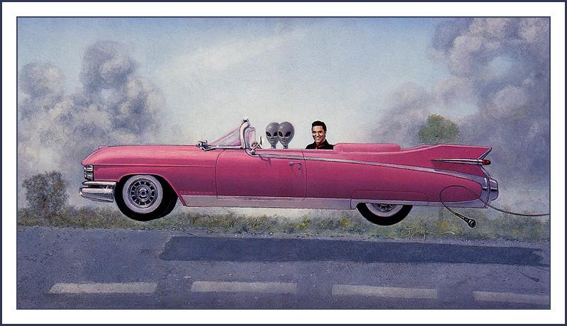 Карл Лундгрен. Розовое авто и пришельцы