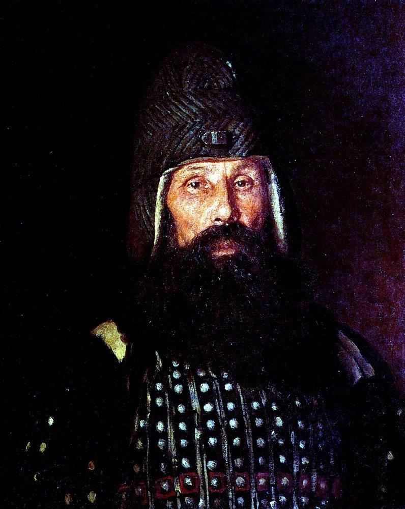Ilya Efimovich Repin. Warrior of the XVII century