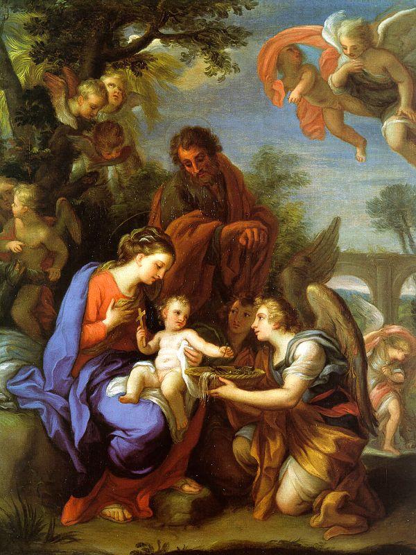 Джузеппе Киари. Мадонна с Христом