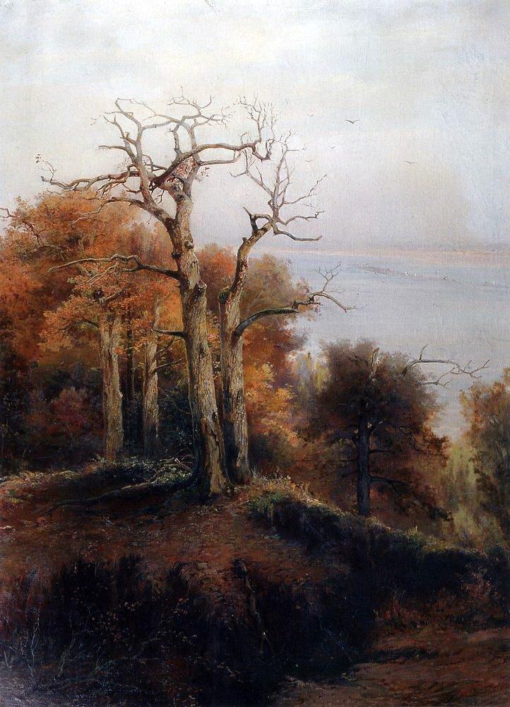 Алексей Кондратьевич Саврасов. Осенний лес