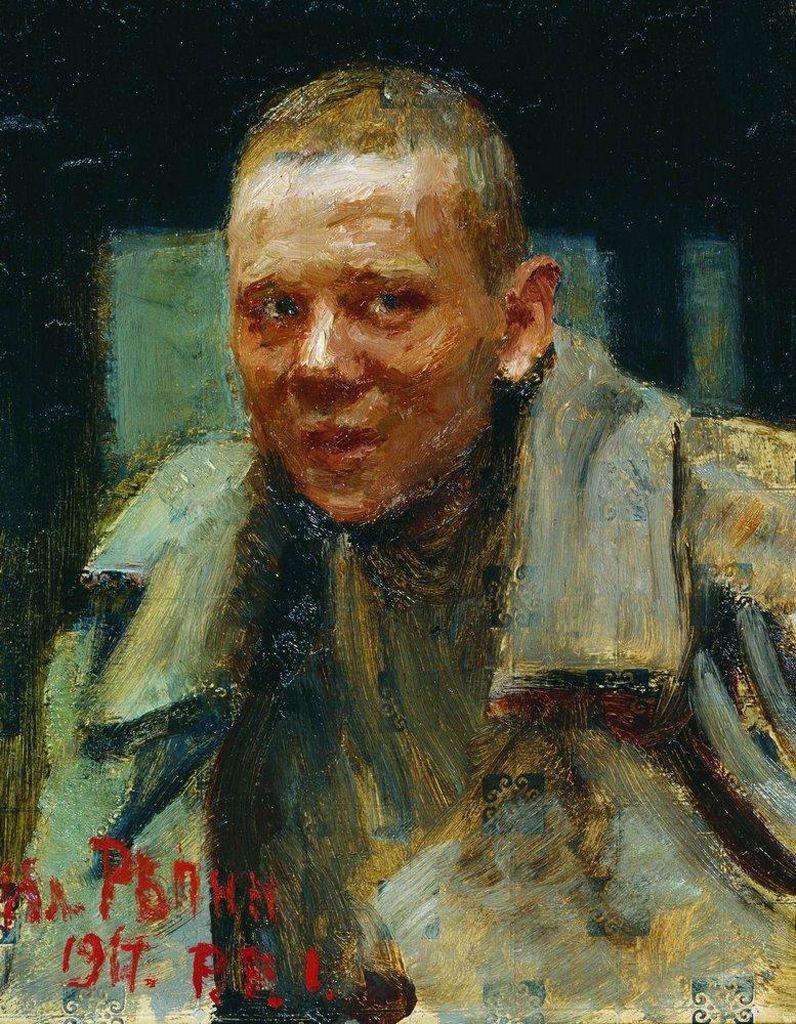 Илья Ефимович Репин. Дезертир