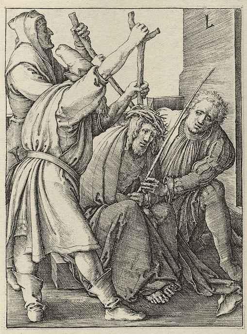 Лукас ван Лейден (Лука Лейденский). Коронование терновым венцом