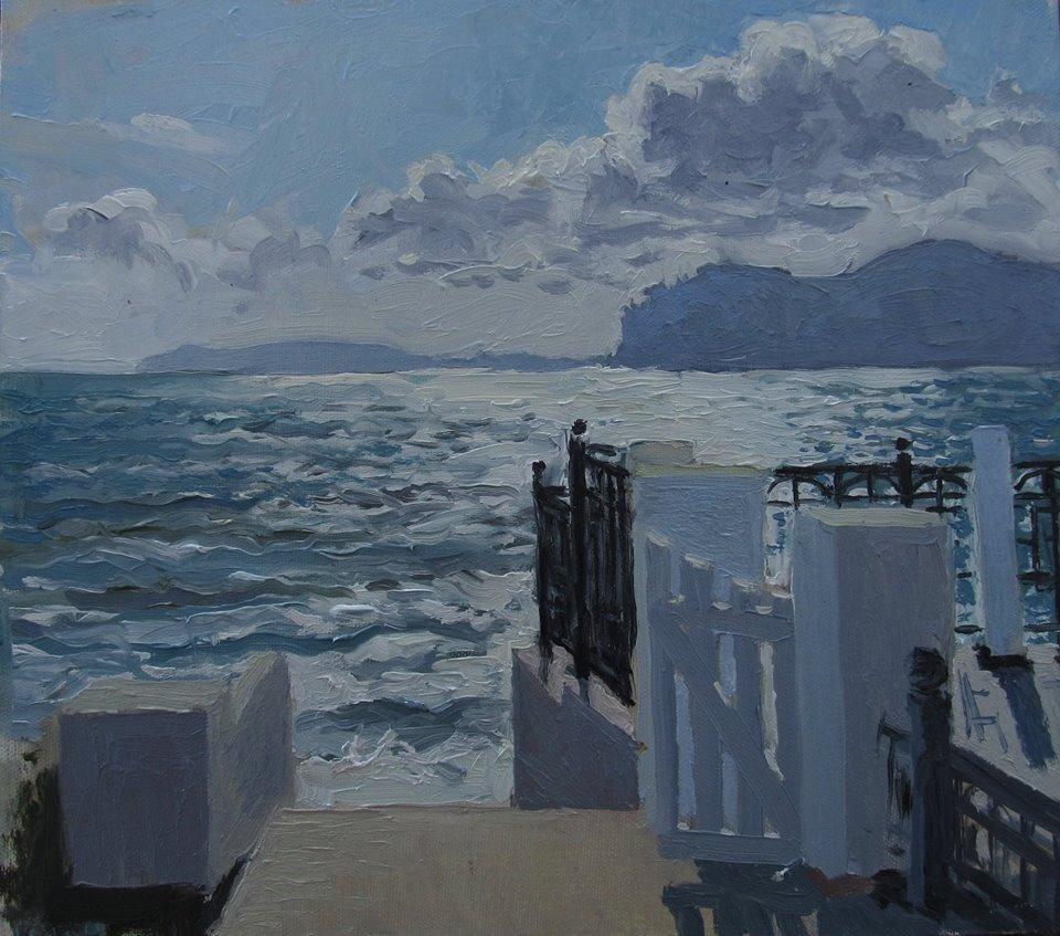 """Igor Semelin. Crimea, Ordzhonikidze. """"Access to the sea"""""""
