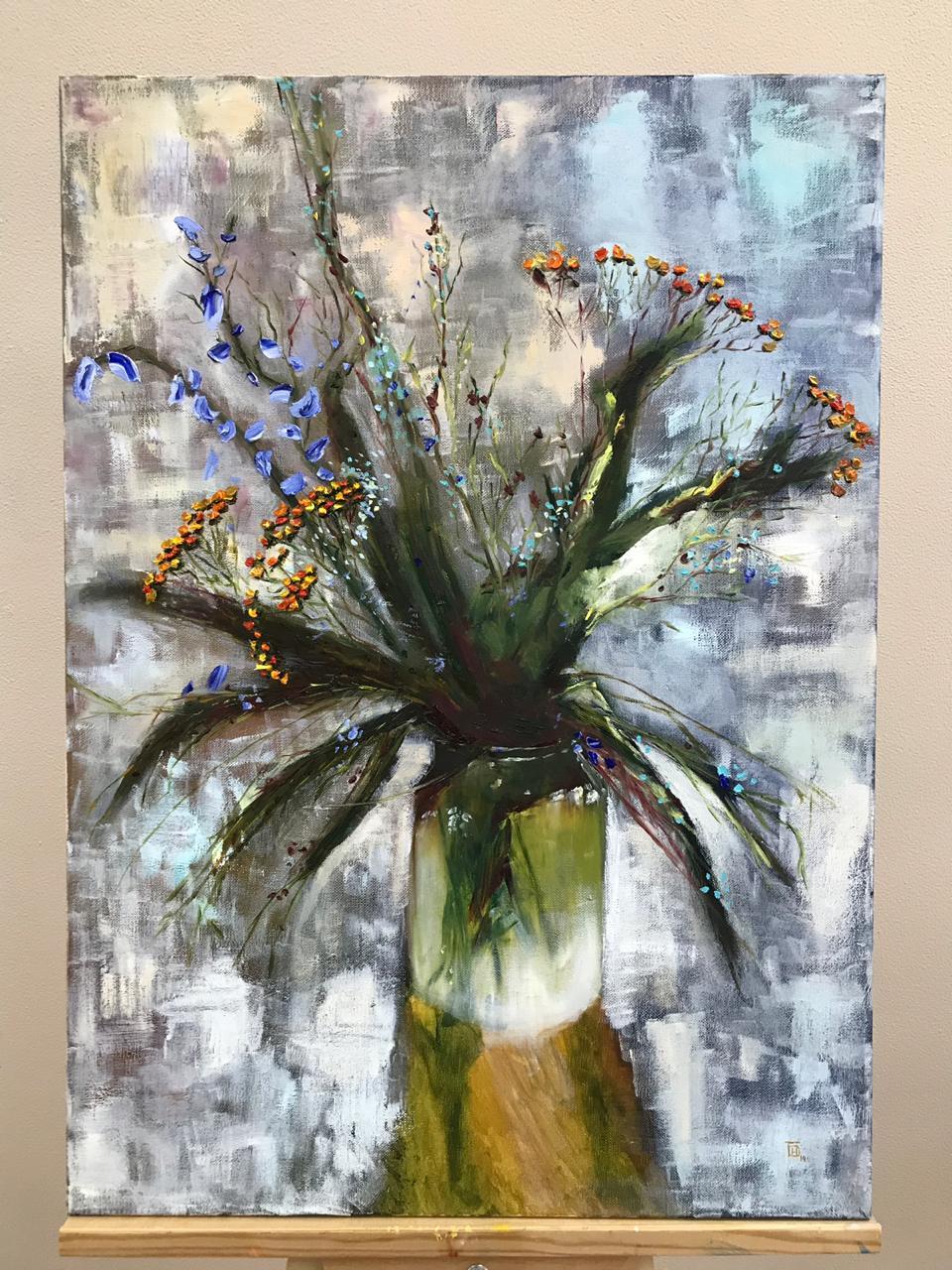"Natalia Ivanovna Bulgak. ""Bouquet in a jar"""