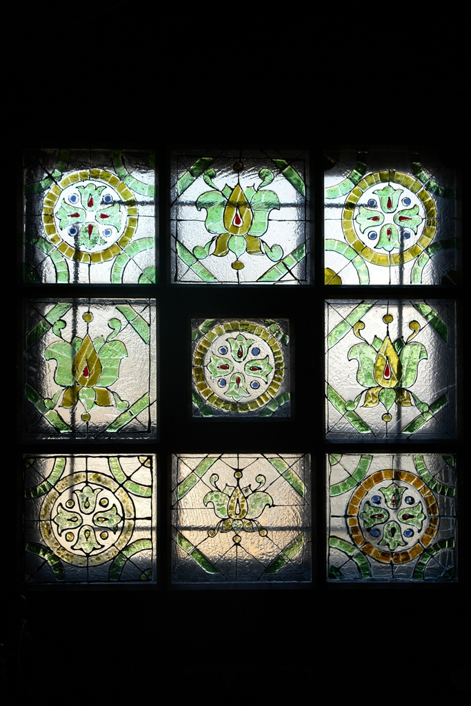Igor Yurevich Drozhdin. Stained glass window in the technique of fusing