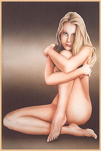 Ив Плато. Блондинка