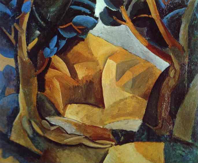 Пабло Пикассо. Две обнаженные фигуры