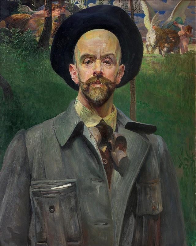 Яцек Мальчевский. Автопортрет