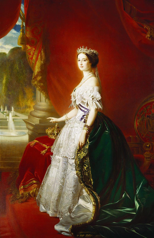 Franz Xaver Winterhalter. Empress Eugenie (Eugenie de Montijo)