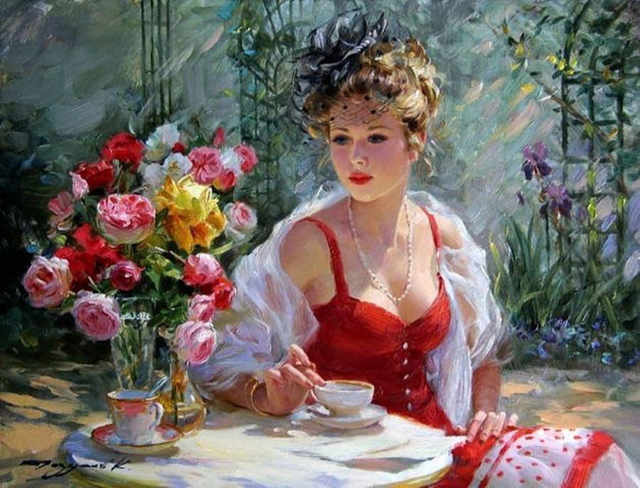 Constantine Razumov. In the garden