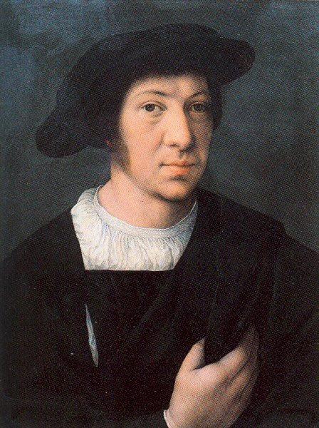 Баренд ван Орли. Мужчина в черной шляпе