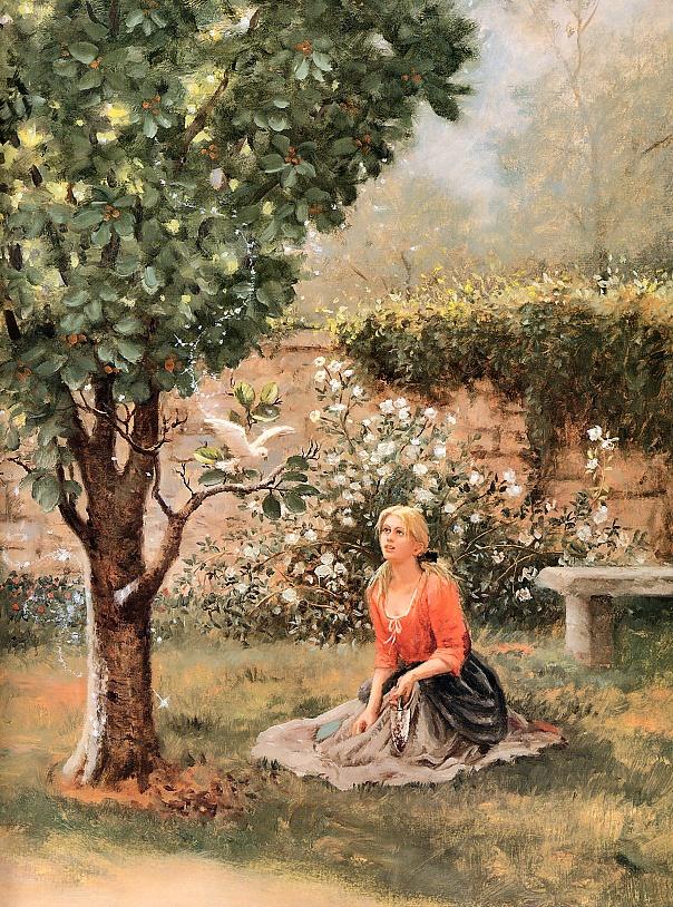Рут Сандерсон. Золушка в саду