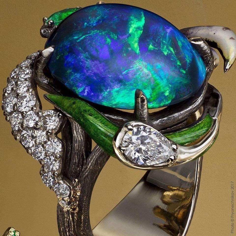 Oleksii Averin. Jewelry Art