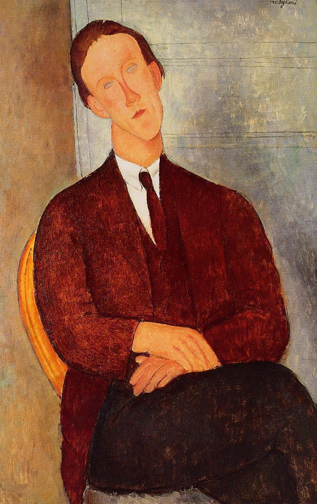 Amedeo Modigliani. Portrait Of Morgan Rosella