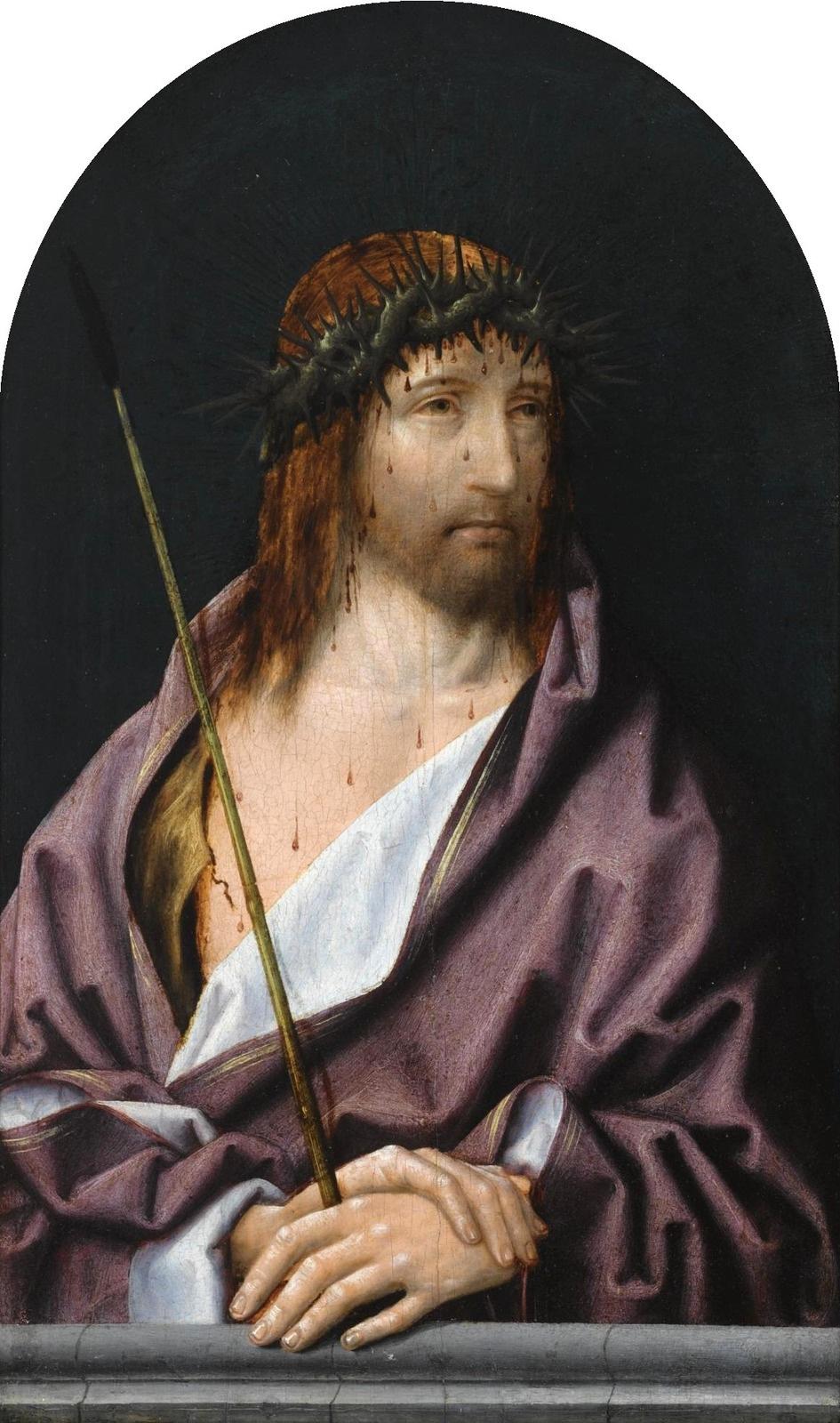 Unknown artist. Ecce Homo. XVI century