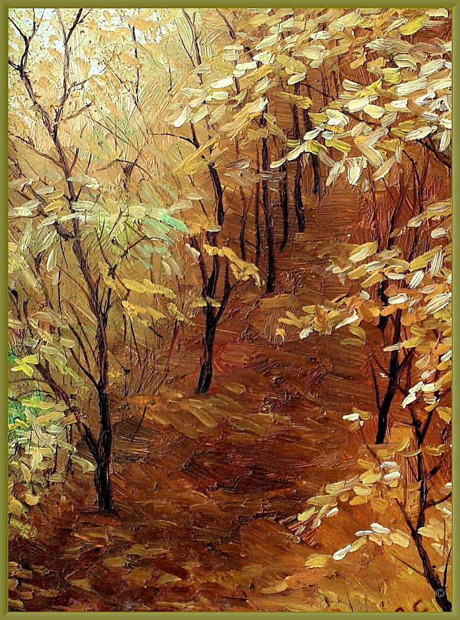 Sergey Nikolaevich. Pykhtin. Autumn Park.