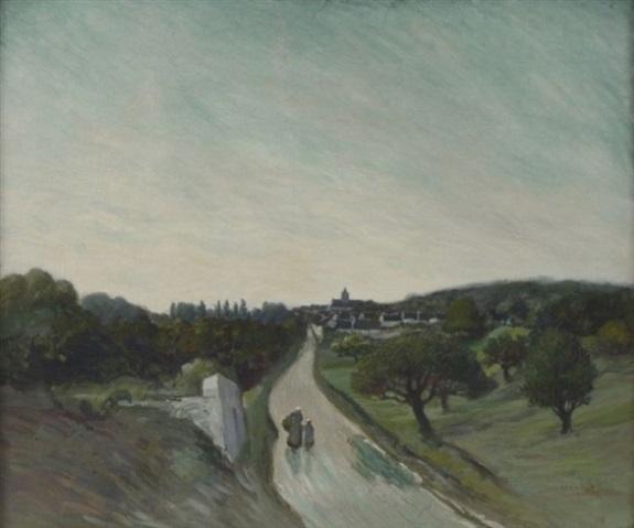 Theophile-Alexander Steinlen. Road