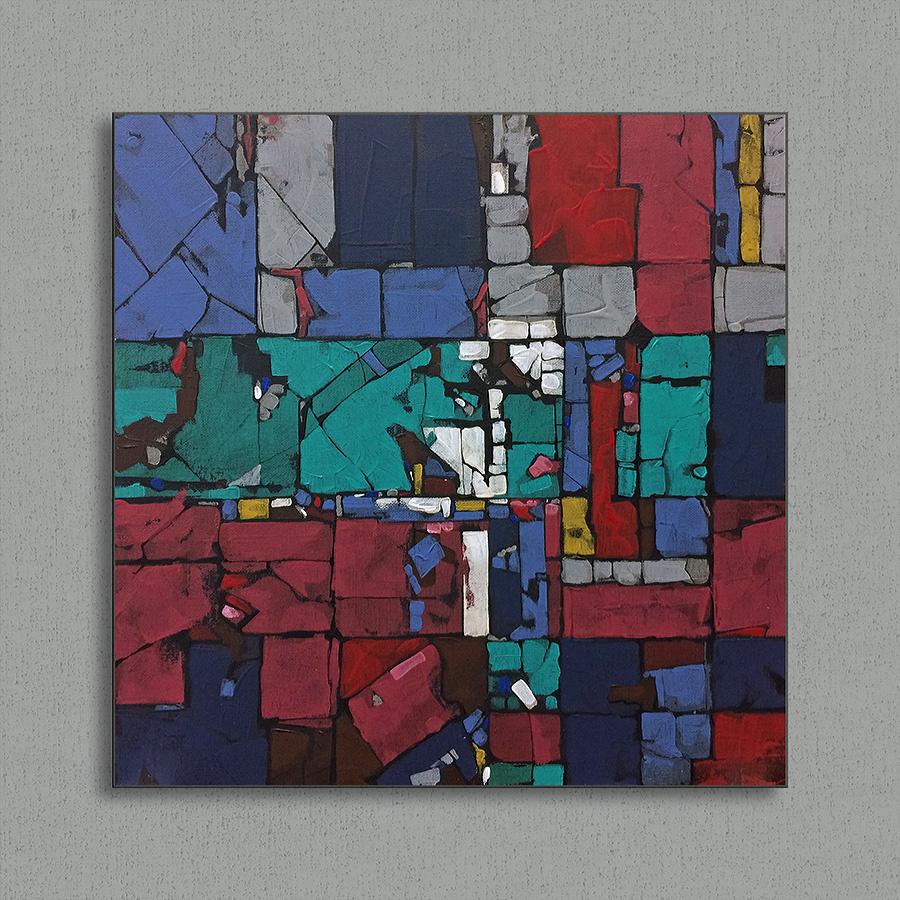 Mike Bezloska. Abstraction 7