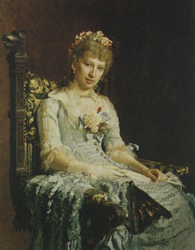 Ilya Efimovich Repin. Portrait of an Unknown (E. D. Botkin). Yekaterinburg Museum of Fine Arts.