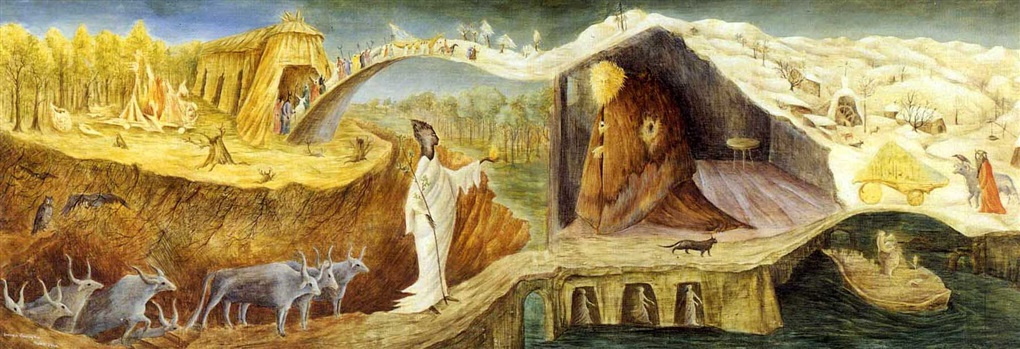 Leonora Carrington. Elements