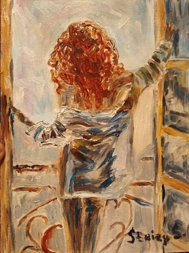 Svetlana Sergeevna Silchuk. Freedom in the red head