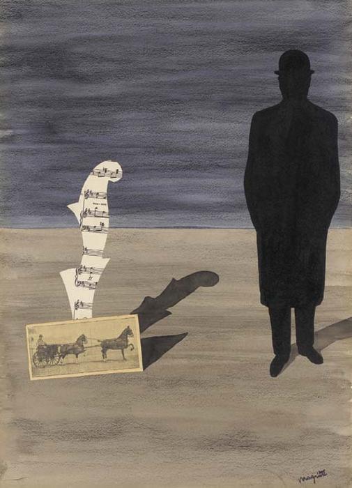 René Magritte. Размышления одинокого прохожего