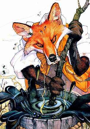 Дон Дэйли. Иллюстрация к сказке Братец Кролик 027