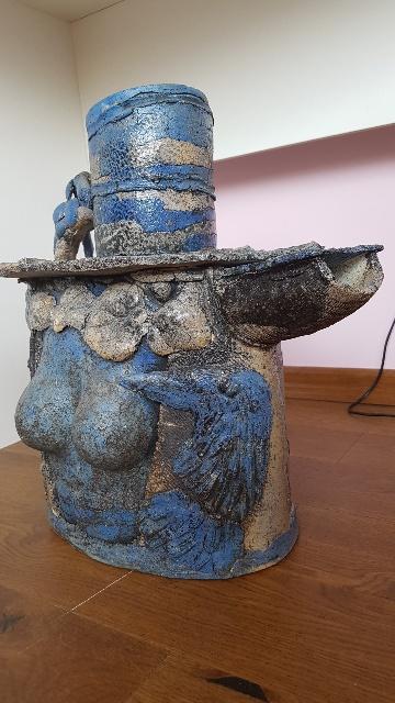 Author's ceramics. Fantasy teapot
