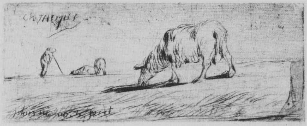 Жан-Франсуа Милле. Пасущиеся овцы