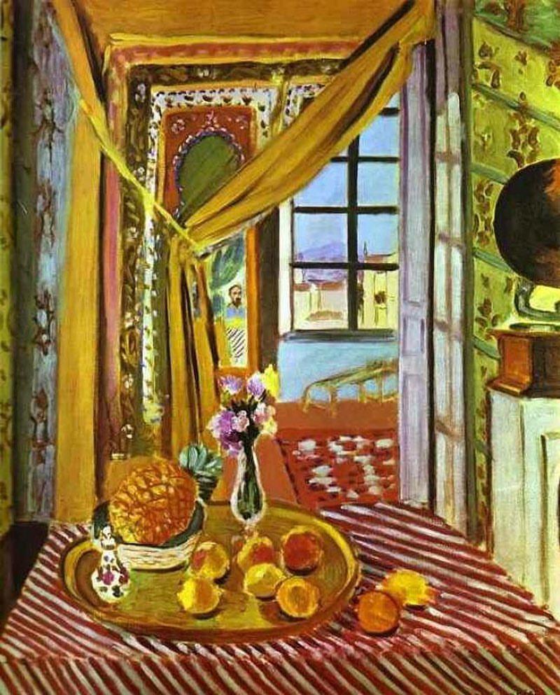 Henri Matisse. Interior with phonograph