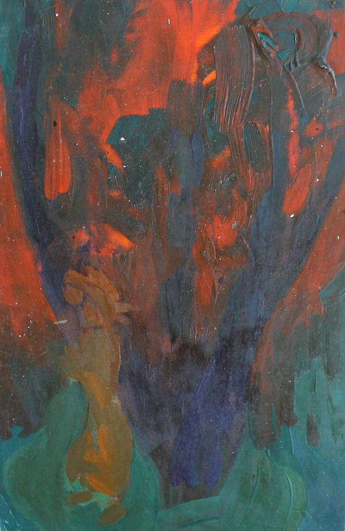 Alexander Aleksandrovich Akimov. Abstraction