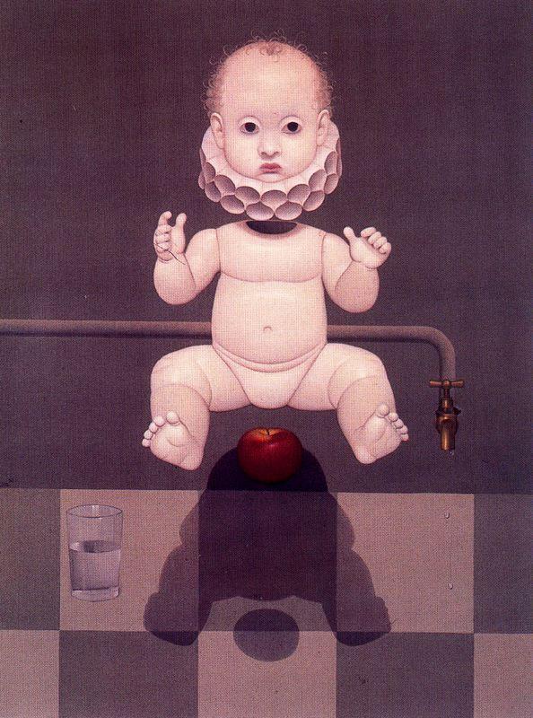 Juan Fernandes Bejart. The baby and Apple