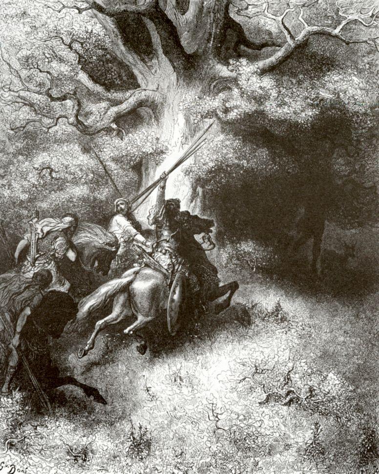Поль Гюстав Доре. Смерть Авессалома
