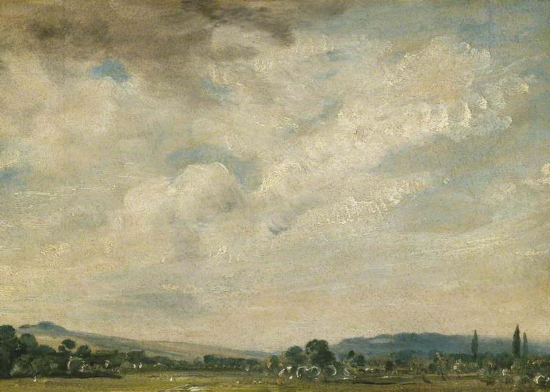 John Constable. Harnham ridge, near Salisbury