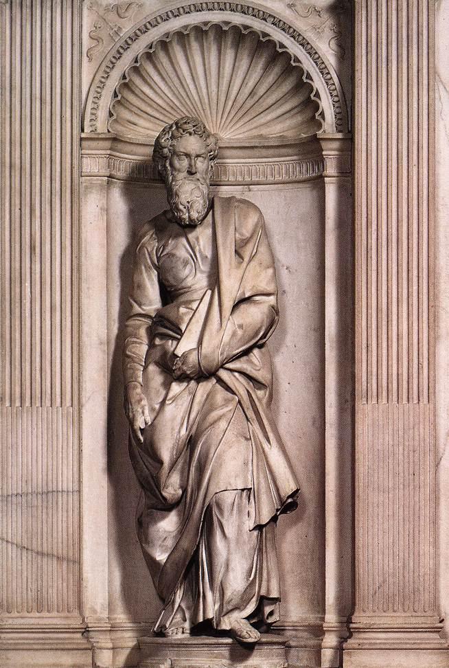 Микеланджело Буонарроти. Св. Апостол Павел.