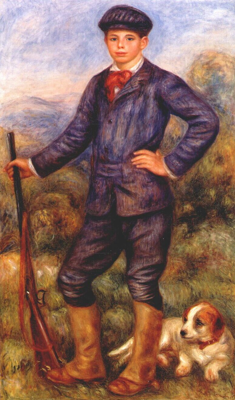 Pierre-Auguste Renoir. Jean as a Huntsman