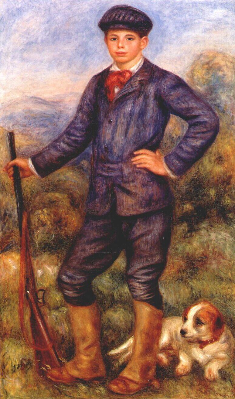 Pierre-Auguste Renoir. Jean as a Huntsman