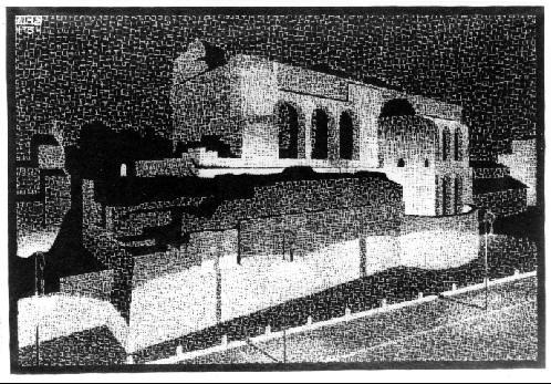 Мауриц Корнелис Эшер. Сооружения
