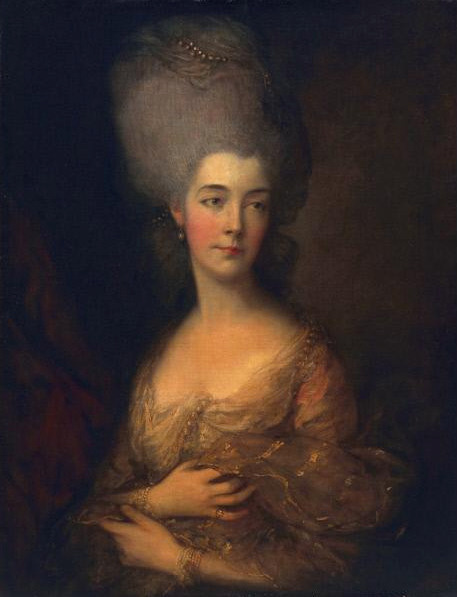 Thomas Gainsborough. Luttrell Anne, Duchess of Cumberland