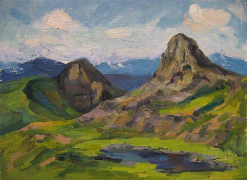 Svetlana Holodnyak. Caucasus