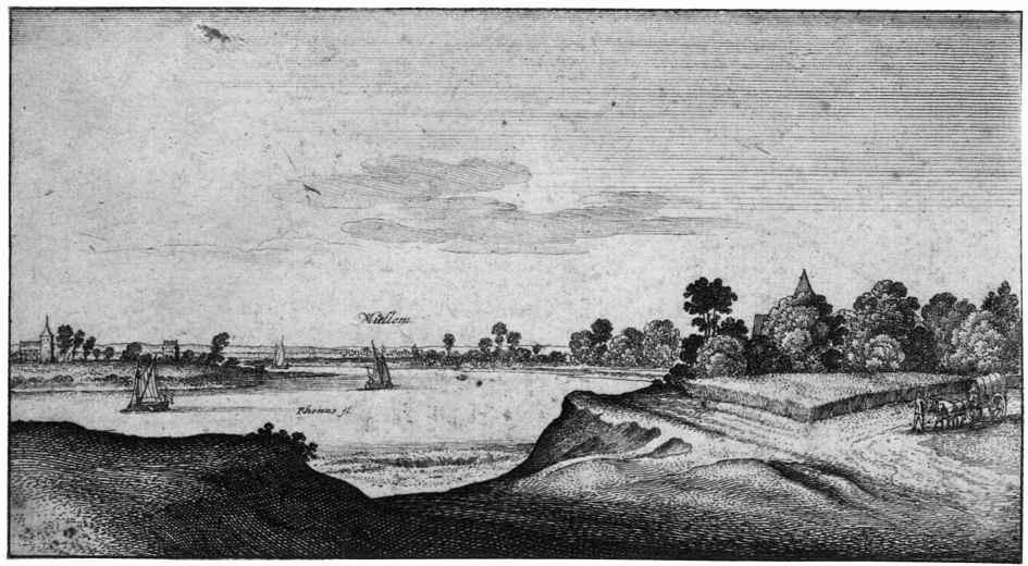 Венцель Холлар. Мюльхайм на Рейне