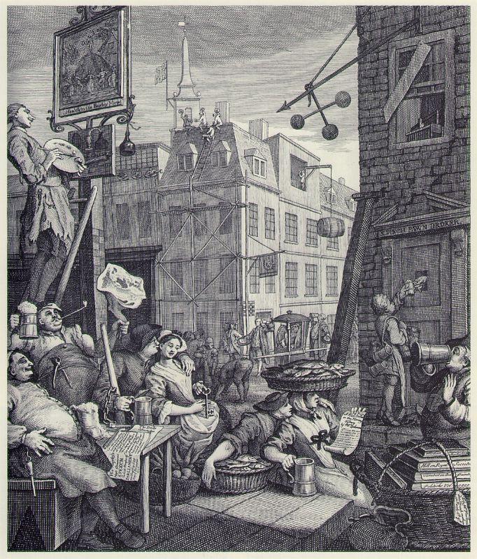 William Hogarth. Beer street