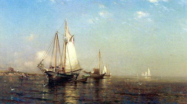Артур Кууаптлеу. Белые паруса