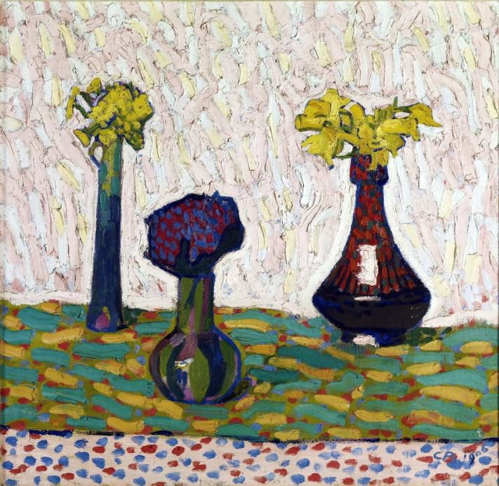 Still Life With Three Vases By Cuno Ami History Analysis Facts