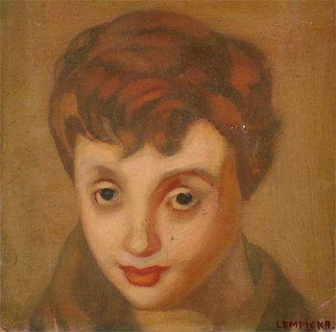 Tamara Lempicka. Portrait Of Francoise Sagan