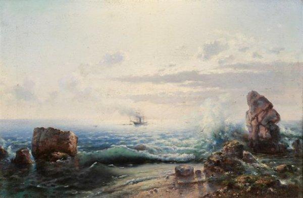 Nikolay Ivanovich Yurasov. Sea