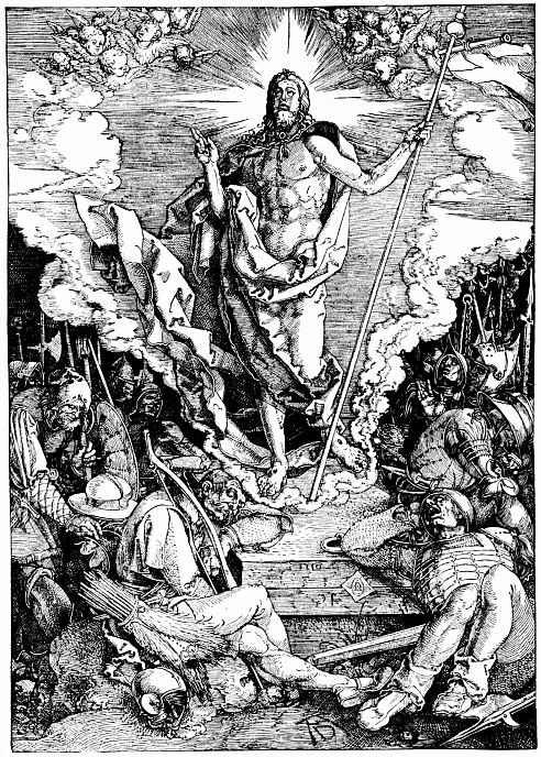 Альбрехт Дюрер. Воскресение Христа