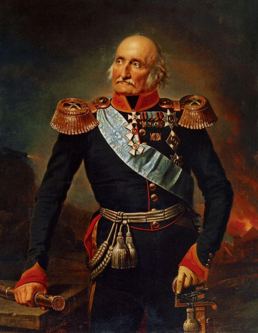 Franz Kruger. Portrait of Prince P. Kh.